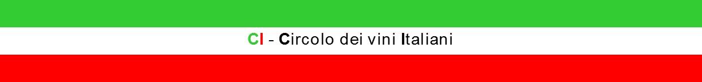 CI – Circolo dei vini Italiani Logo